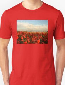 RED IMPRESSIONISM Unisex T-Shirt