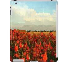 RED IMPRESSIONISM iPad Case/Skin