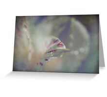Delicate and Strong Greeting Card