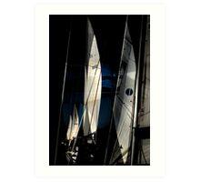 Sail Equation..  Art Print