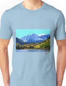 Maroon Bells Unisex T-Shirt