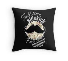 Blogger Watson Throw Pillow