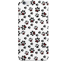 Paw Foot Prints iPhone Case/Skin