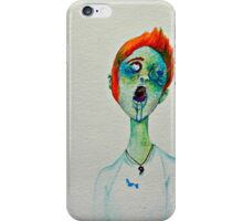Flower Zombies iPhone Case/Skin