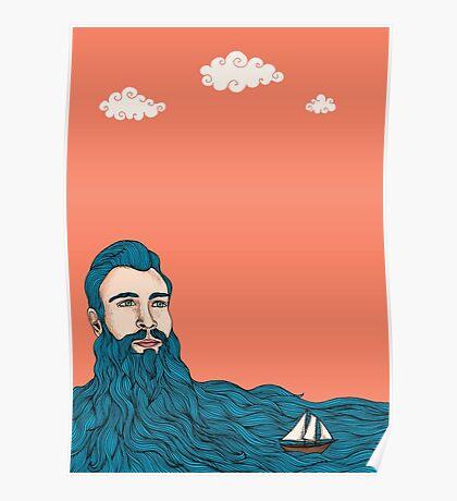 Él y el mar Poster