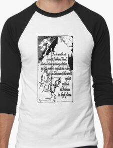 EPHESIANS 6:12 - WICKEDNESS IN HIGH PLACES Men's Baseball ¾ T-Shirt