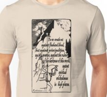 EPHESIANS 6:12 - WICKEDNESS IN HIGH PLACES Unisex T-Shirt