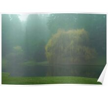 Puget Sound - Mists of Autumn Poster