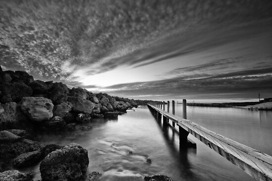 Behind the Harbour Walls by Jonathan Stacey