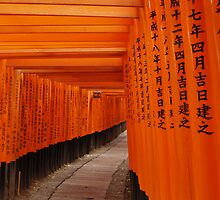 Fushimi-Inari Shrine, Kyoto by Melissa Pearson