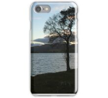 Evening Sky Over Lake of Menteith iPhone Case/Skin