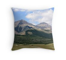 Rockies Ranchland Throw Pillow