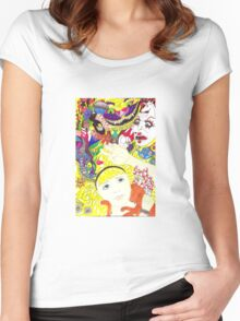 Alice and Dinah Women's Fitted Scoop T-Shirt