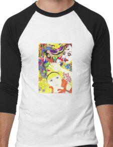 Alice and Dinah Men's Baseball ¾ T-Shirt