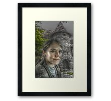 Women from Romania Framed Print