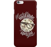 Mentally unstable dog lover & FBI's Special Agent iPhone Case/Skin