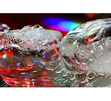 Ice Bright Photographic Print