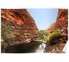 Purnululu National Park trail Poster