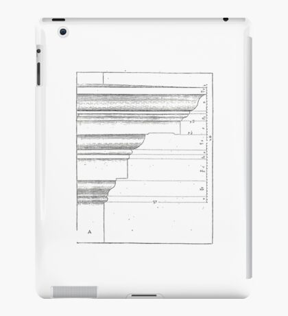 architecture proportions iPad Case/Skin