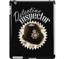 Detective Inspector iPad Case/Skin