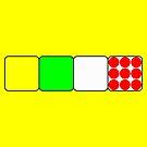 Tour de France Jerseys 2 Yellow by Brian Carson