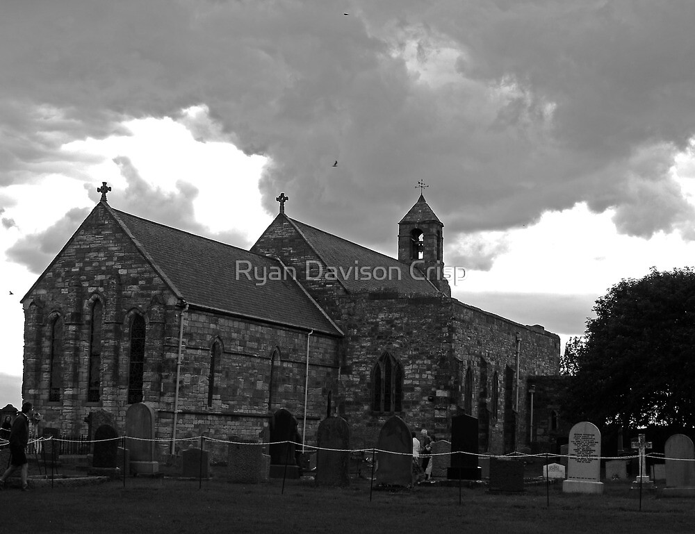 Holy Island Church by Ryan Davison Crisp