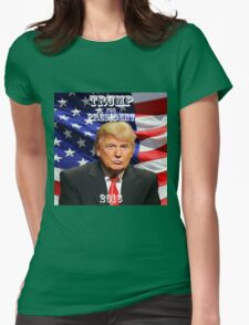 Donald Trump For President 2016 Womens Fitted T-Shirt