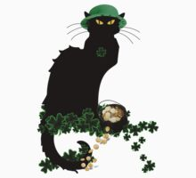 St Patrick's Day Le Chat Noir   by Gravityx9