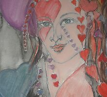 She Is All Heart by Anthea  Slade