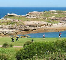 Golf at the Bay by Michael John