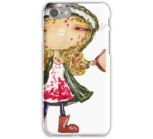 TOAST! (Helena's love of food knows no bounds.) iPhone Case/Skin
