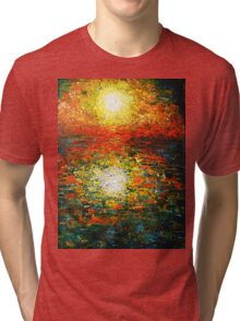 Reflected Sunset Tri-blend T-Shirt