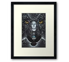 Raven Warrior  Framed Print