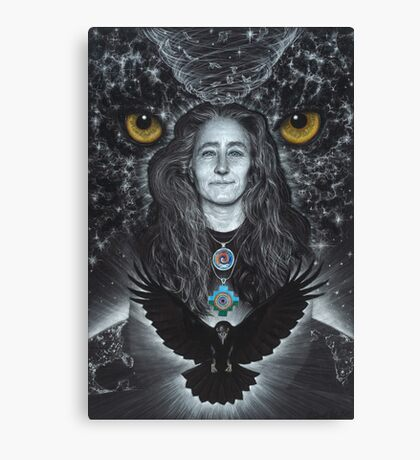 Raven Warrior  Canvas Print