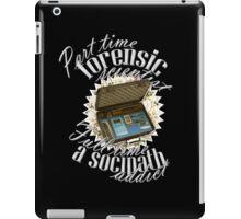 Full Time A Sociopath Addict iPad Case/Skin
