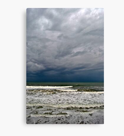 Stormy Surf Canvas Print