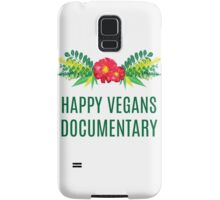 Official Happy Vegans Documentary Merch Samsung Galaxy Case/Skin