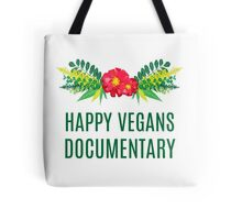 Official Happy Vegans Documentary Merch Tote Bag