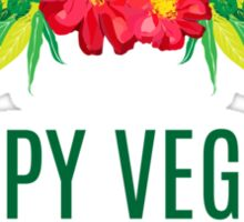 Official Happy Vegans Documentary Merch Sticker