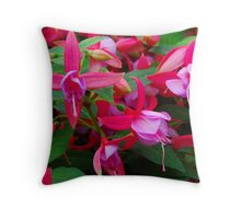 Rose Fantasia Throw Pillow