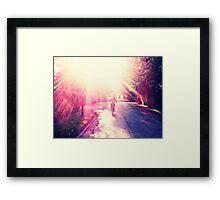 Homebound Framed Print