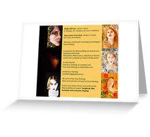 songbook  cd art Greeting Card
