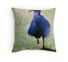 Don't Ruffle My Feathers Again! Throw Pillow