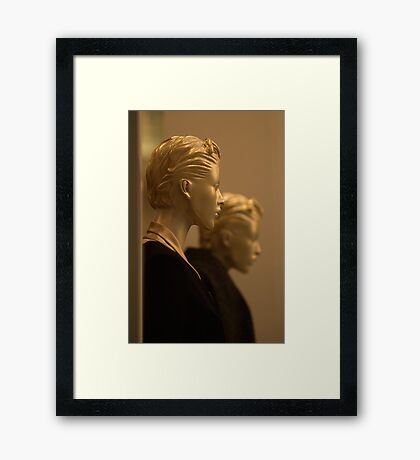 Perfect complexion... Framed Print