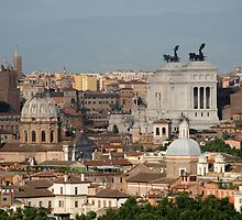 Rooftops of Rome, Italy by hjaynefoster