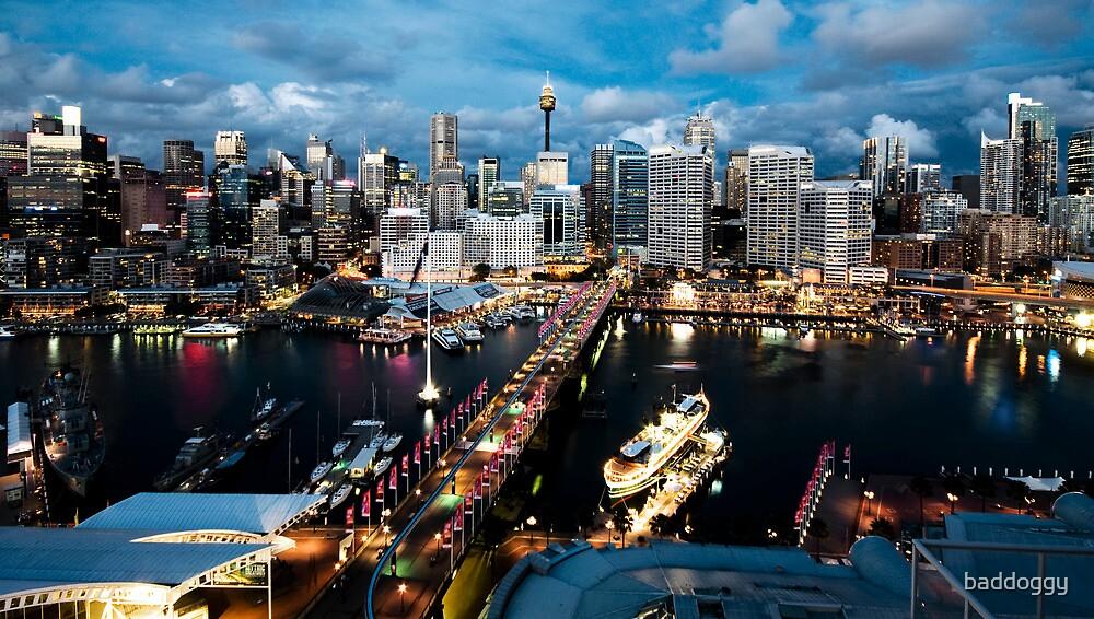 Darling Harbour, Sydney by baddoggy