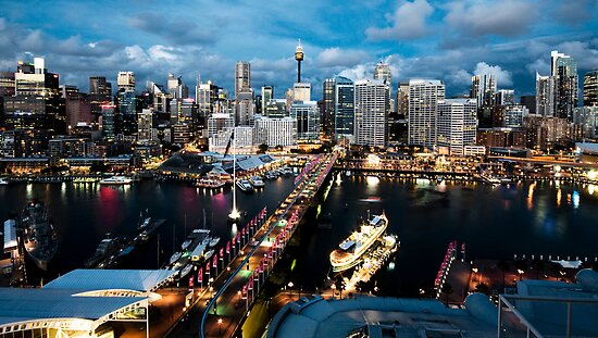 Darling Harbour, Sydney by baddoggy