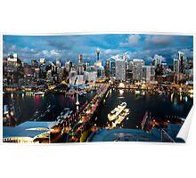 Darling Harbour, Sydney Poster