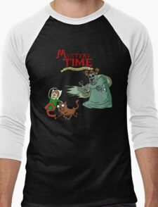 Mystery Time with Shaggy and Scooby Men's Baseball ¾ T-Shirt