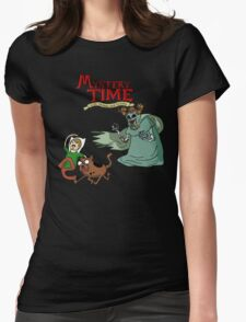 Mystery Time with Shaggy and Scooby Womens Fitted T-Shirt